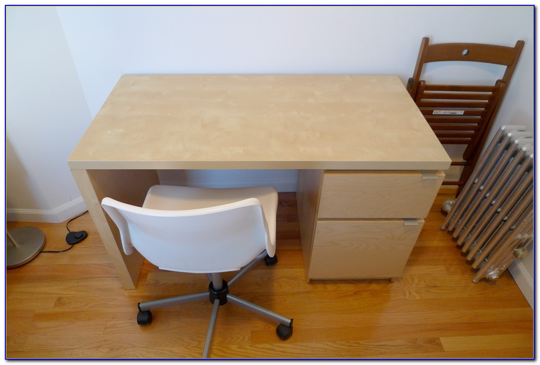 Desk With Filing Drawers