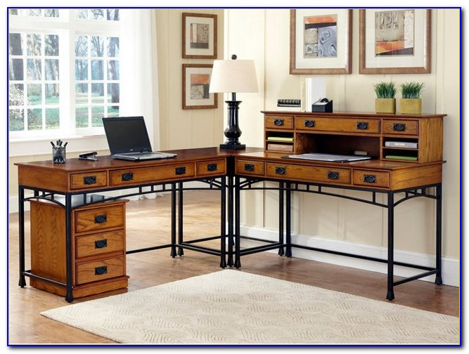 Desk With Filing Storage