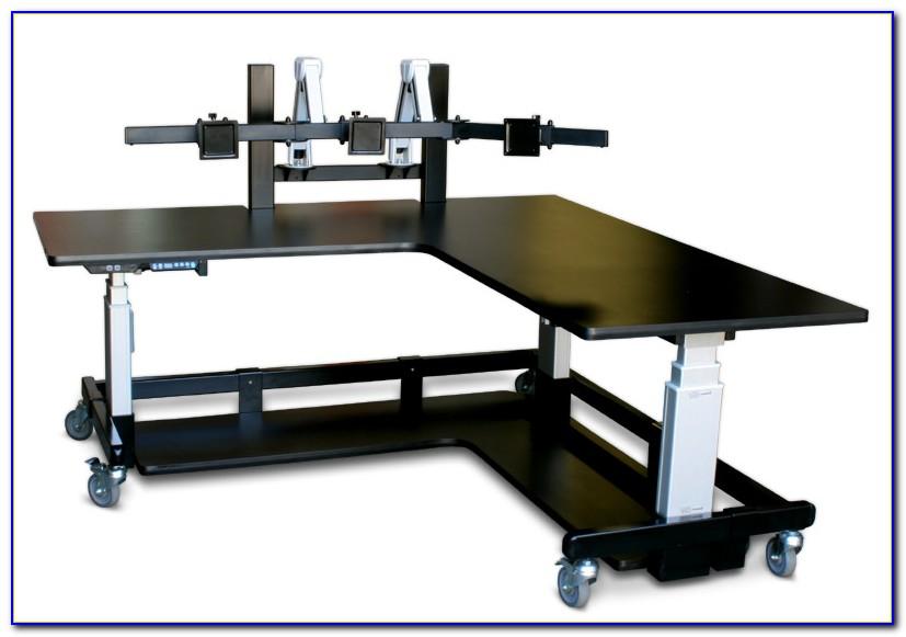 Desks For Multiple Monitors