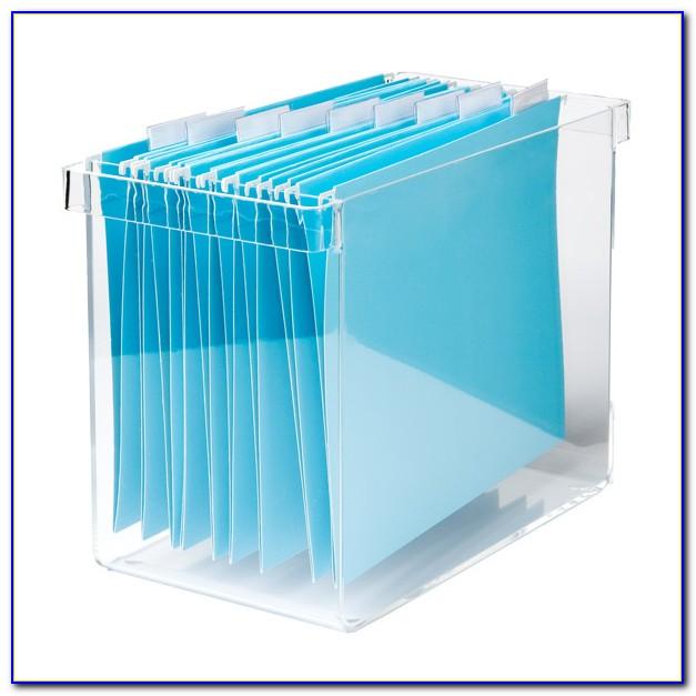 Desktop File Organizer With Adjustable Dividers