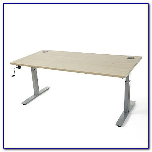 Diy Crank Height Adjustable Desk