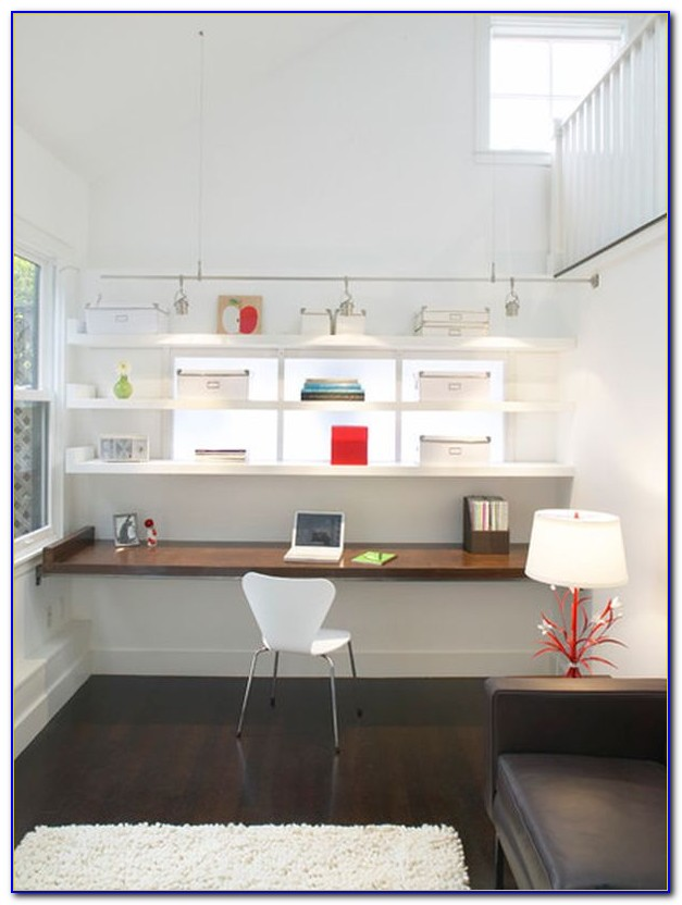 Diy Floating Desk Ideas