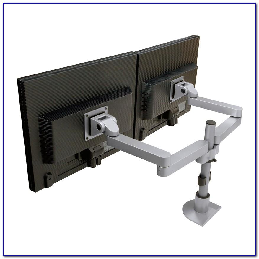 Dual Monitor Computer Table