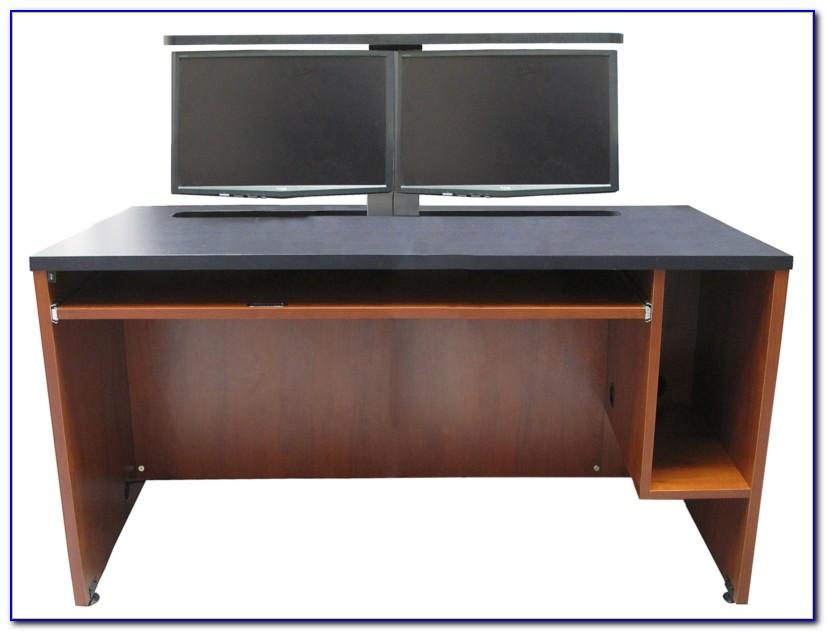 Dual Screen Desktop Computer