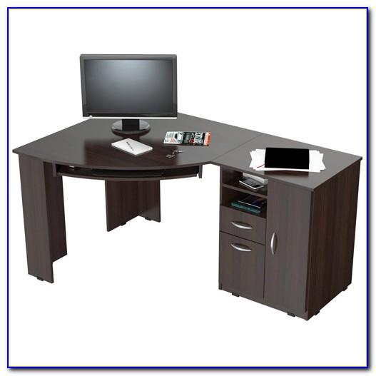 Espresso Corner Computer Desk