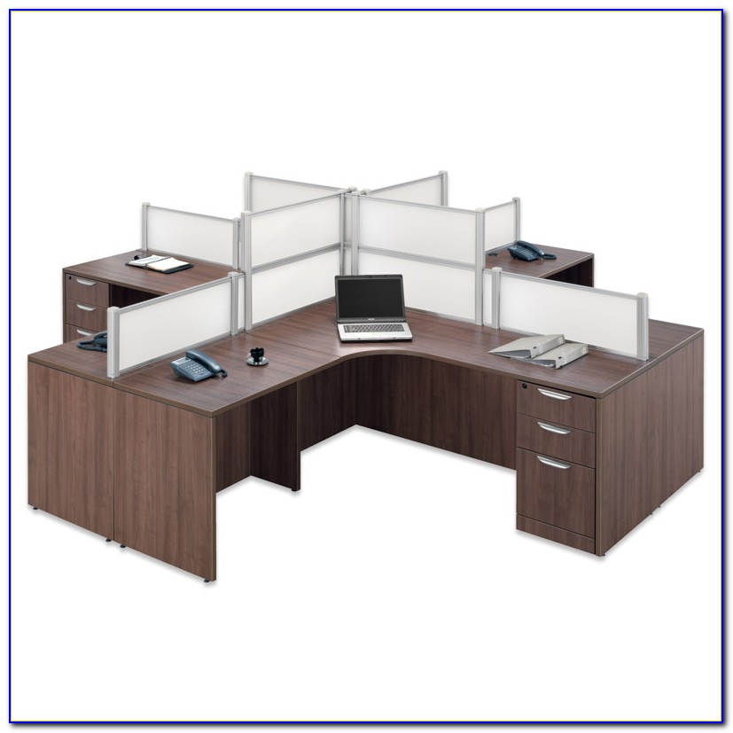 Executive Office Suites Desk And Credenza