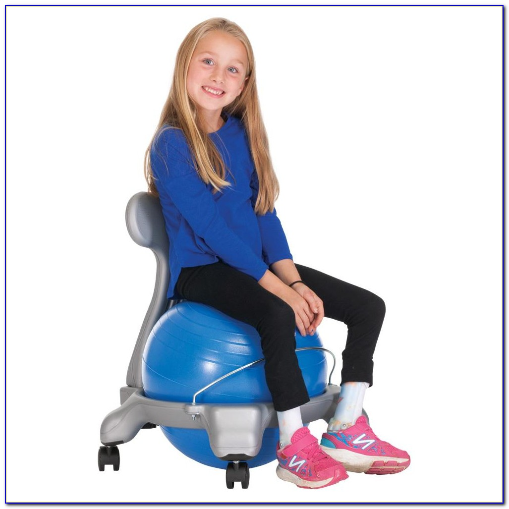 Exercise Ball Office Chair Benefits