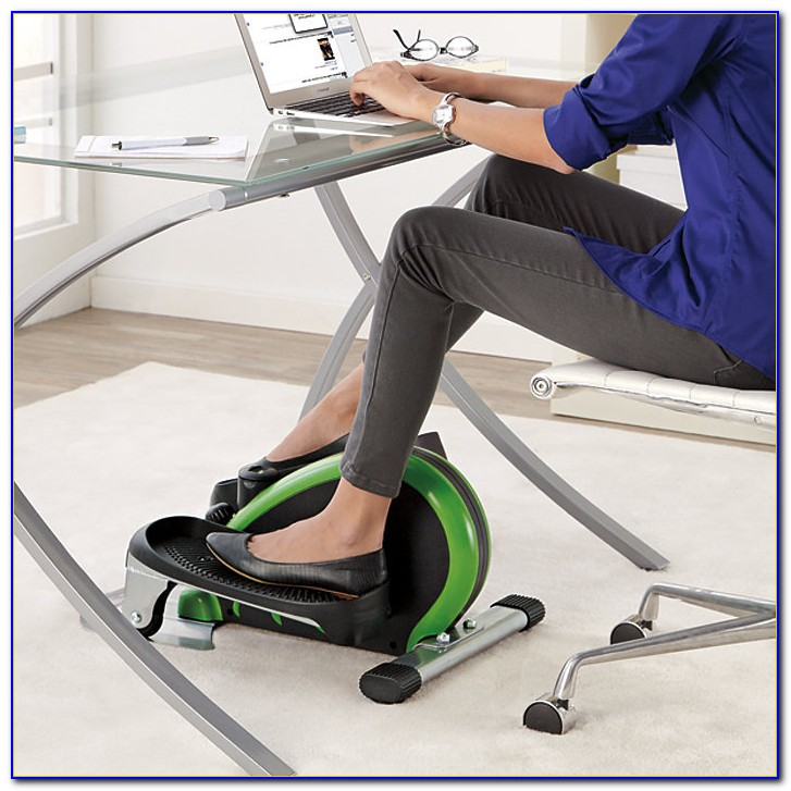 Exercise Bicycle Under Desk