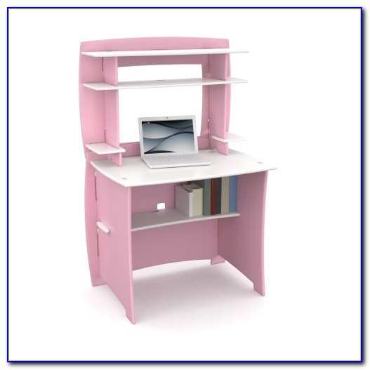 Girls Desk And Hutch