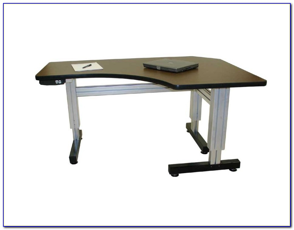 Height Adjustable Computer Desk Electric