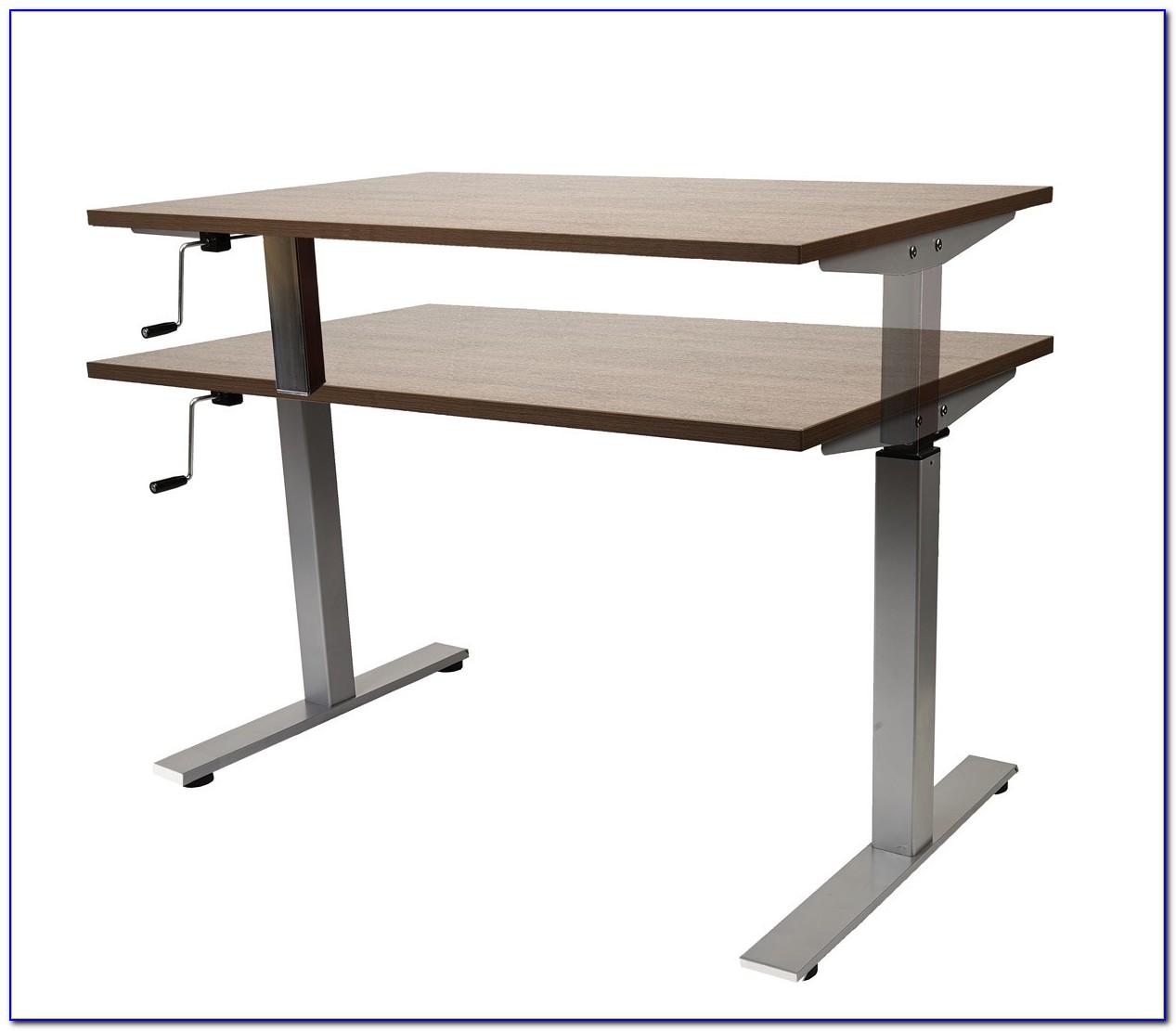 Height Adjustable Desk Crank Handle