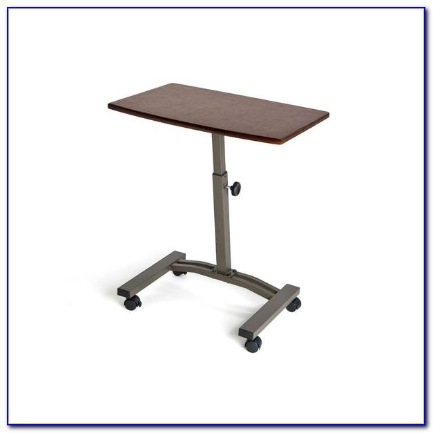 Height Adjustable Rolling Laptop Desk