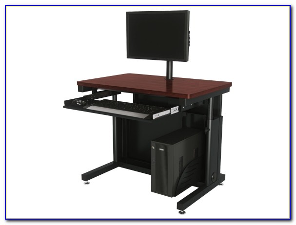 Height Adjustable Standing Laptop Desk