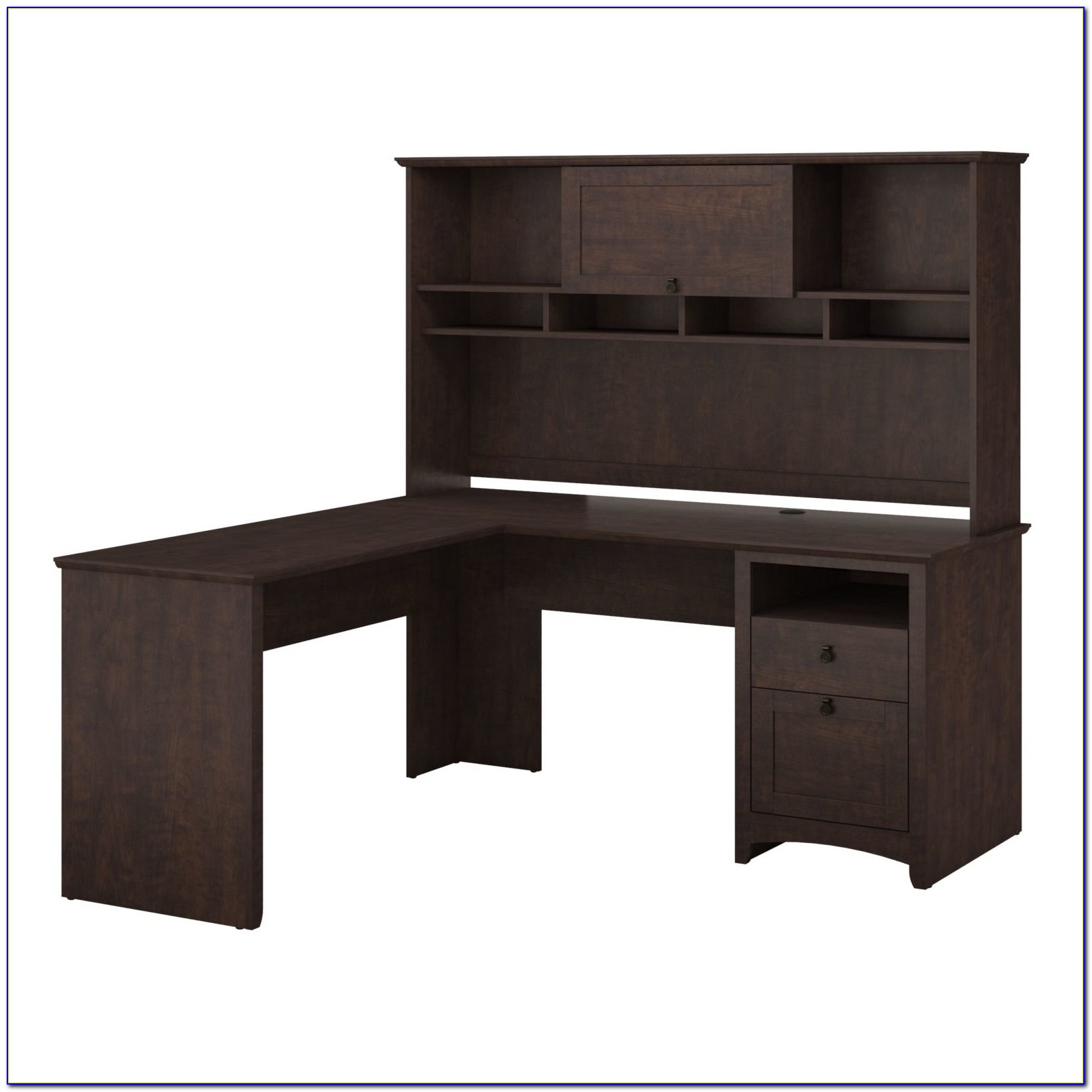 Home Computer Desk With Hutch