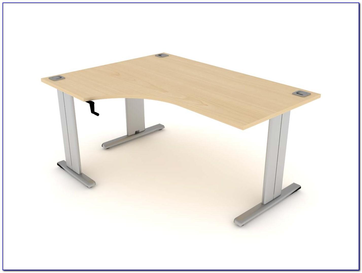 Home Office Desk Adjustable Height