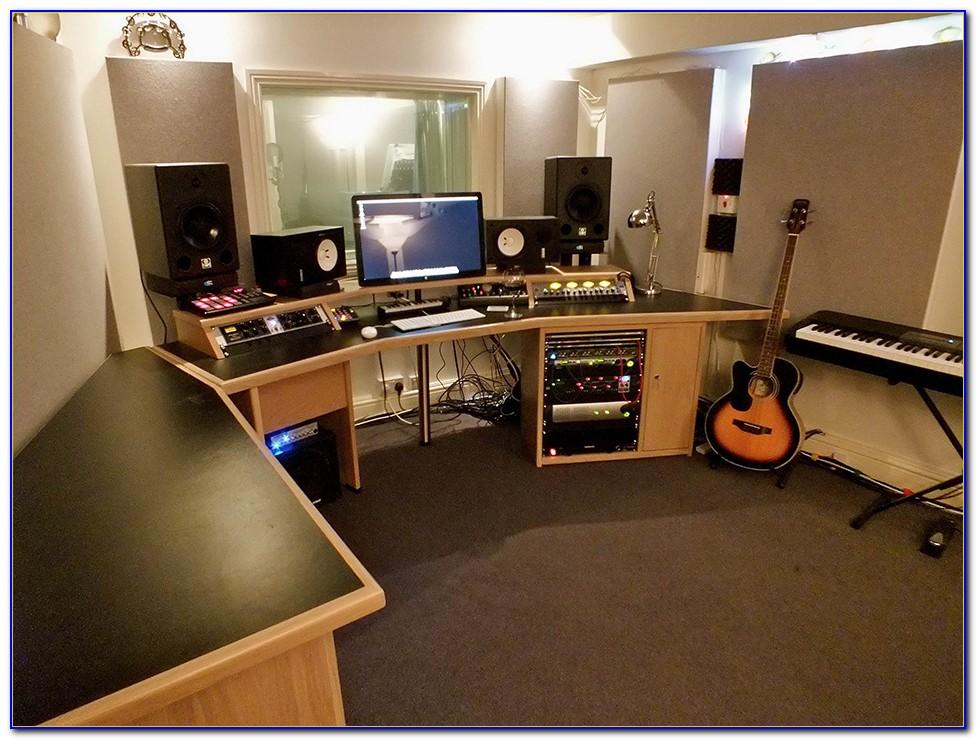 Home Recording Studio Desk Layout