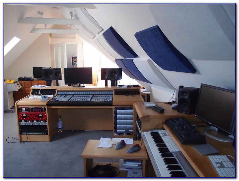 Home Recording Studio Desk Placement