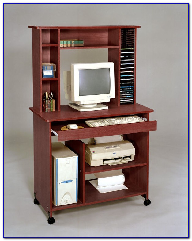 Home Styles Computer Desk With Hutch