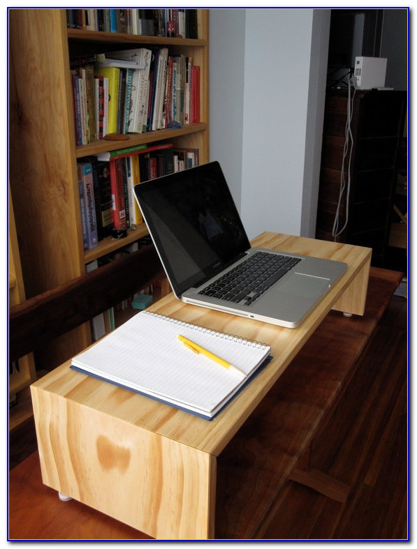 Homemade Adjustable Standing Desk