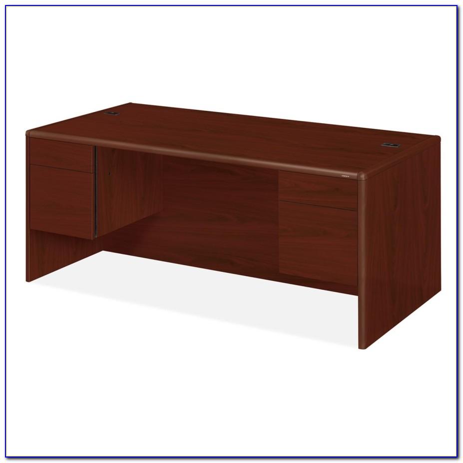 Hon 34000 Series Double Pedestal Desk