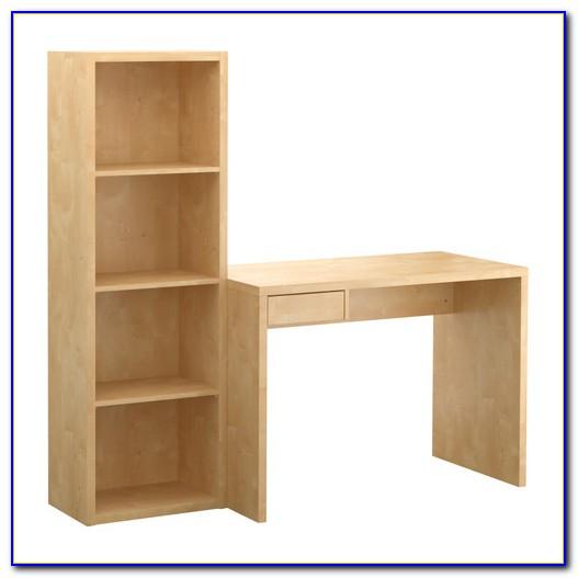 Ikea Desk Bookshelf Combo