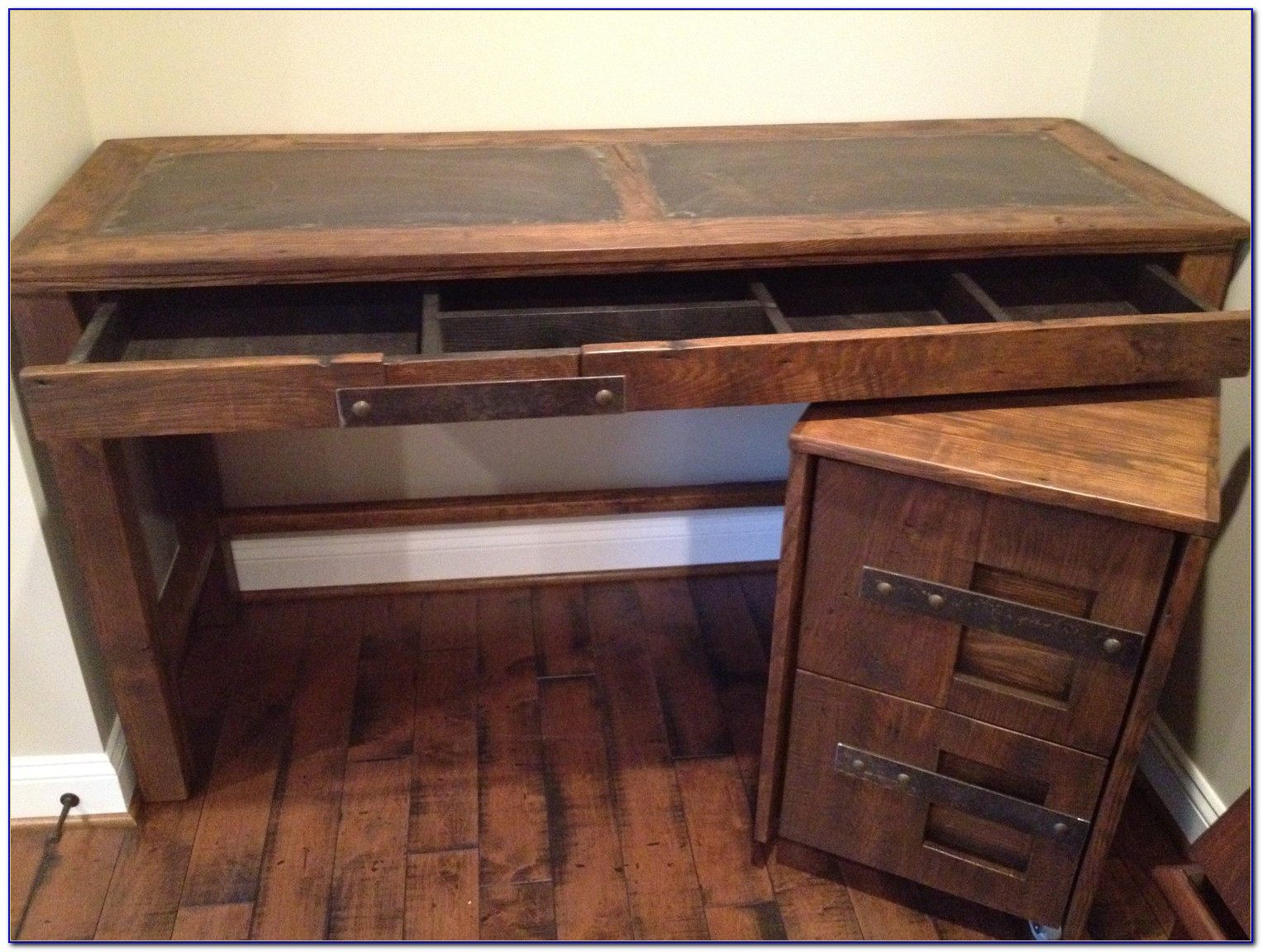 Ikea Desk With Filing Cabinets