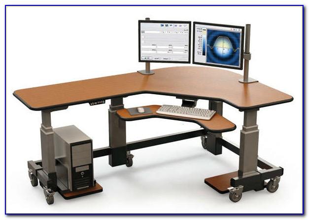 Ikea Office Desk Adjustable Height