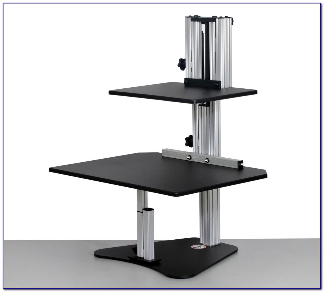 Kangaroo Pro Adjustable Height Desktop Riser