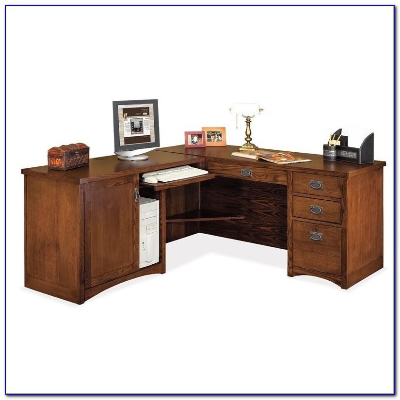 Kathy Ireland Single Pedestal Computer Desk