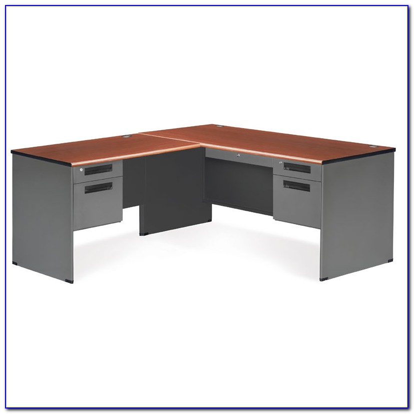 L Shaped Computer Desk With Right Return