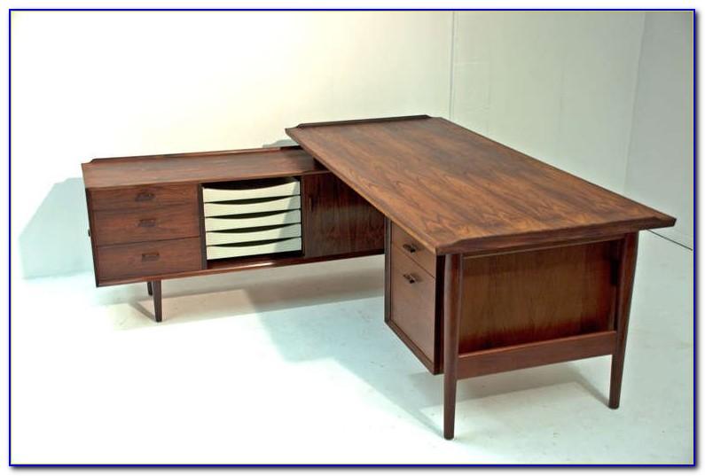 L Shaped Executive Desk Modern