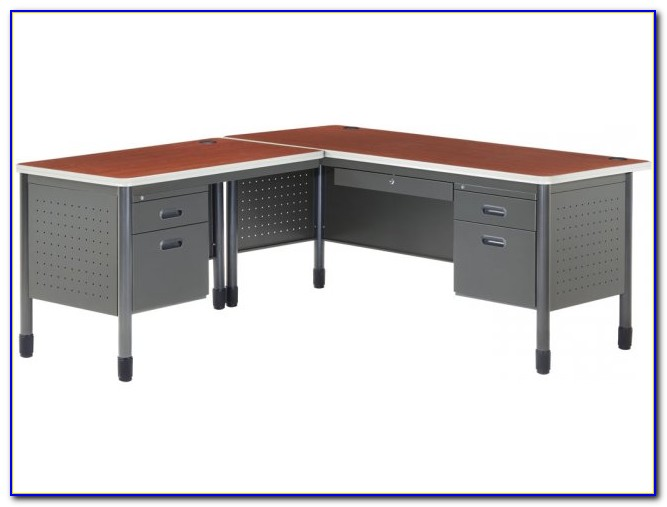 L Shaped Office Desk With Right Return