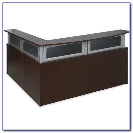 L Shaped Receptionist Desks