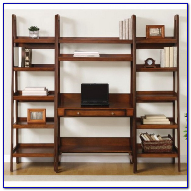 Leaning Bookshelf Desk Ikea
