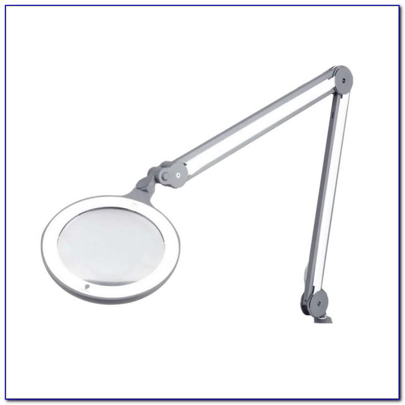 Led Lighted Desk Magnifying Lamp