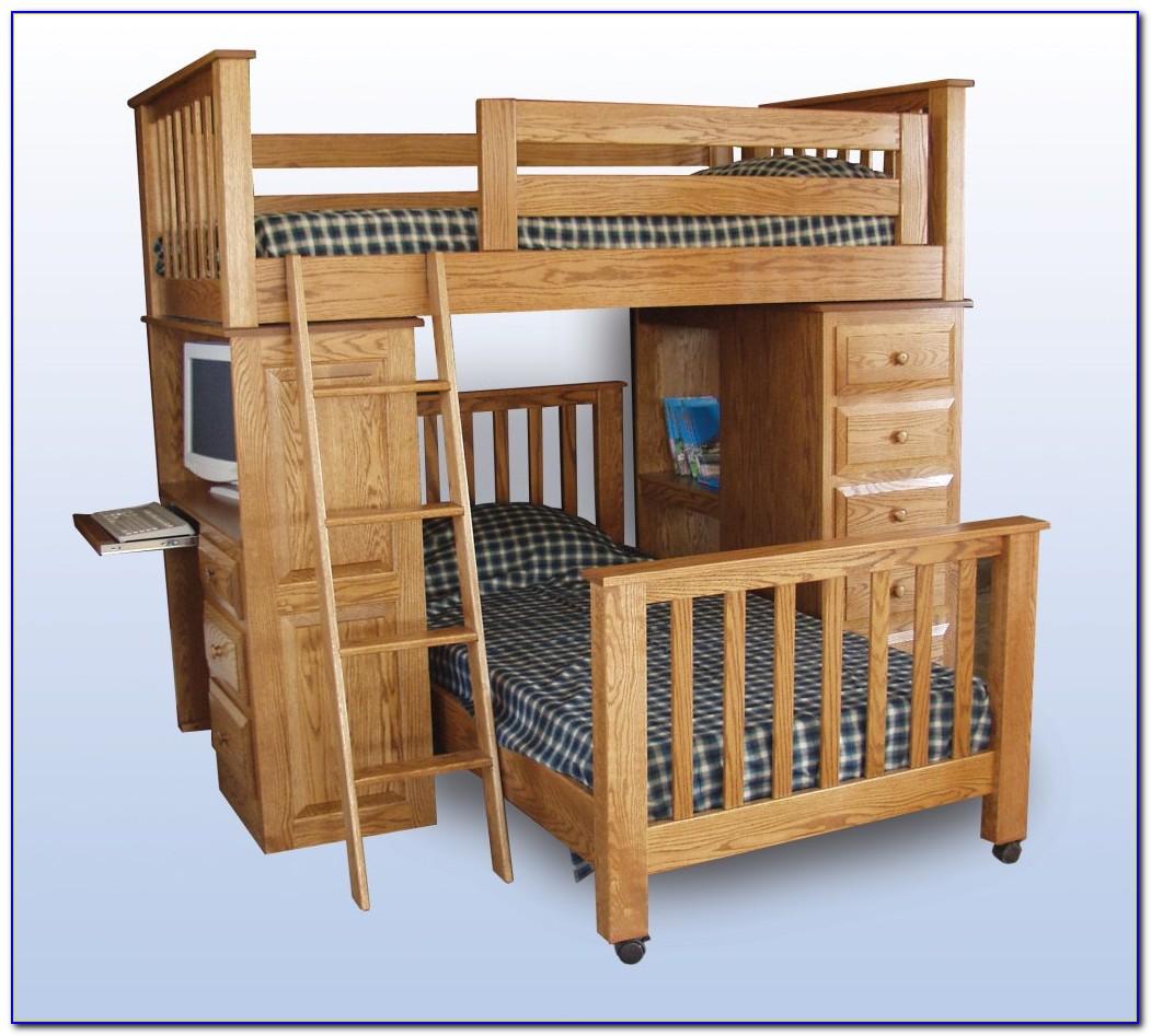 Loft Bed Dresser Desk Combo