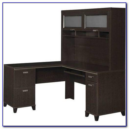 Magellan L Shaped Desk And Hutch