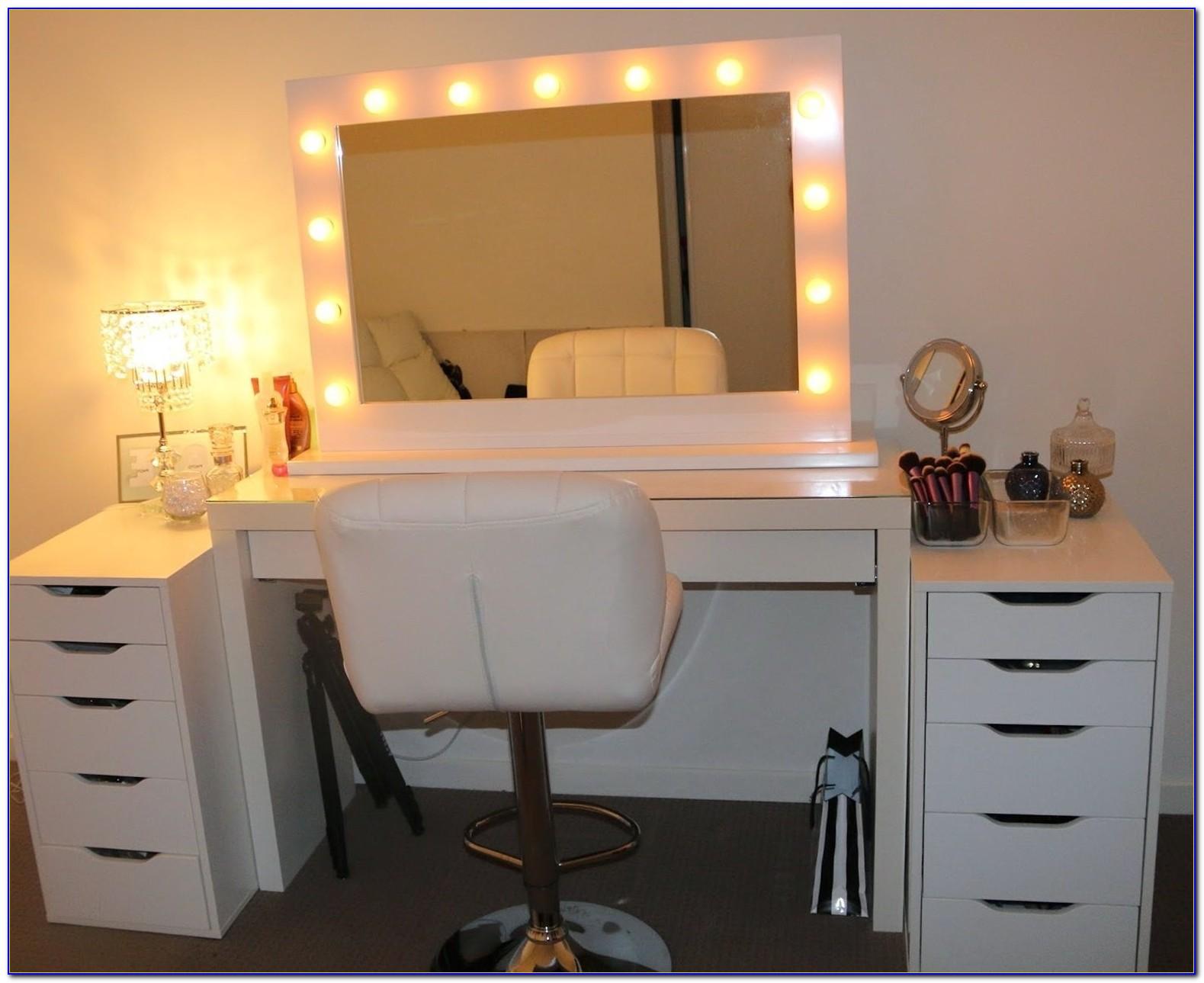 Makeup Vanity Mirror With Lights Canada