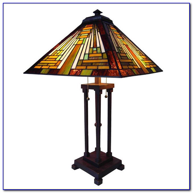 Mission Style Table Lamp Base