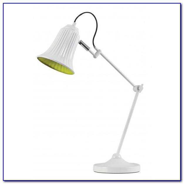 Neon Green Desk Lamp