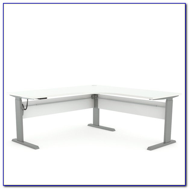 New Heights Electric Sit To Stand Desk
