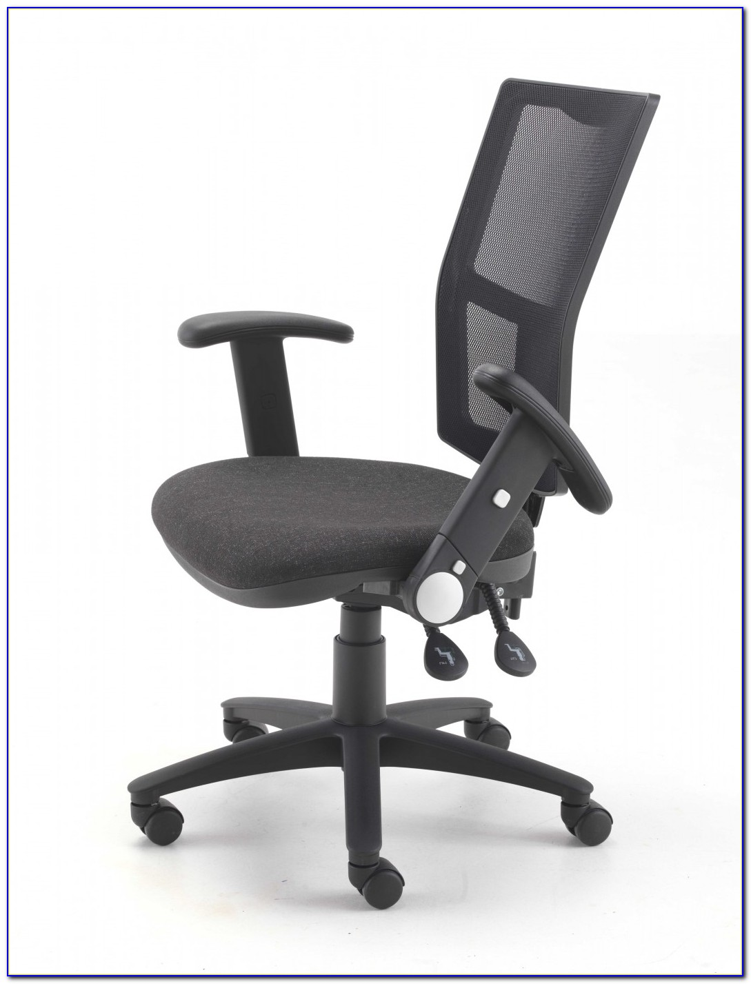 Office Chairs With Adjustable Arms And Lumbar Support
