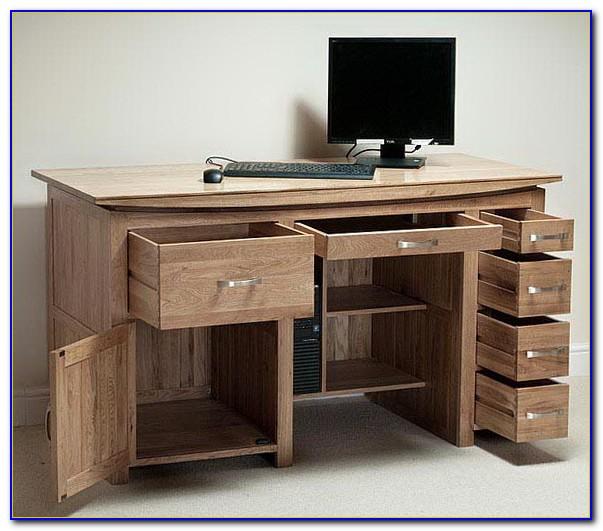 Office Desk With Cpu Storage