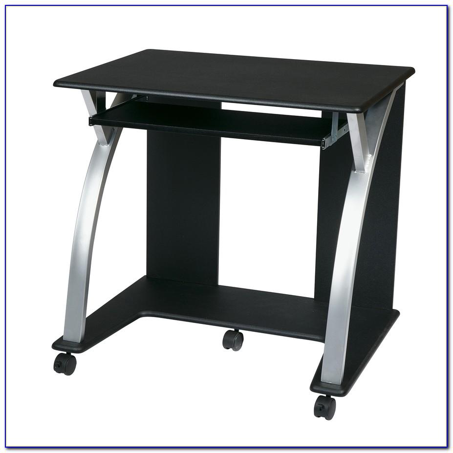 Osp Designs Meridian Computer Desk In Black