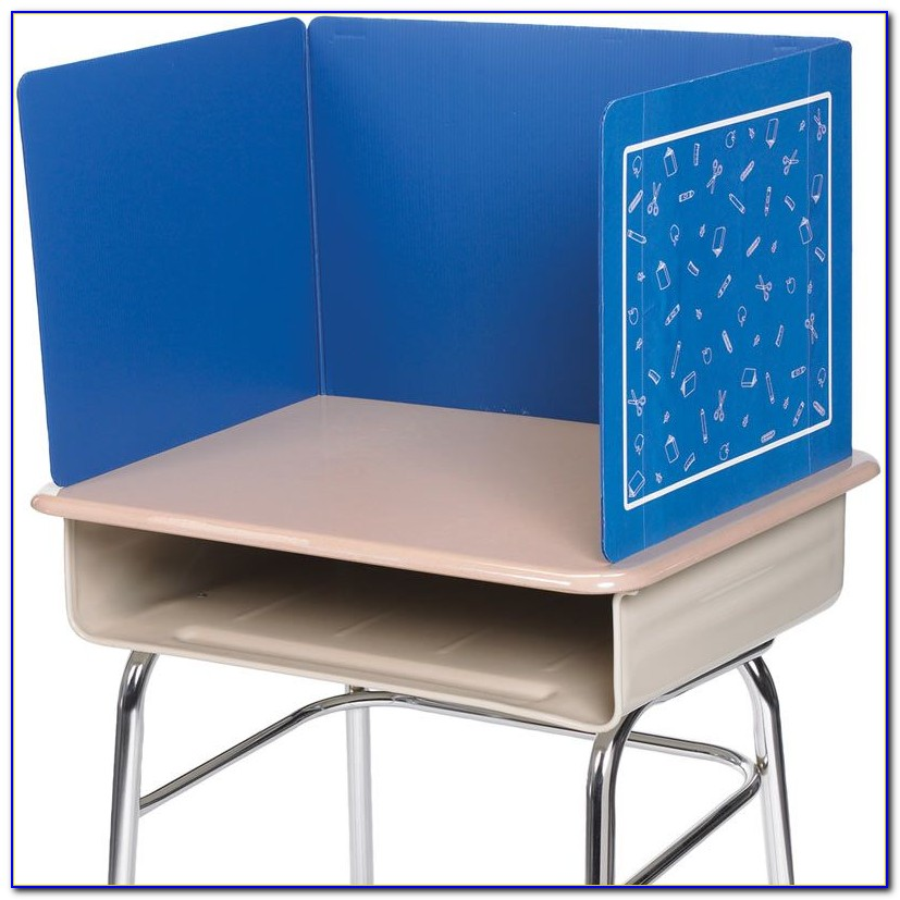 Plastic Privacy Shields For Student Desks