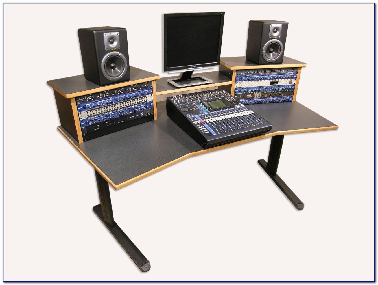 Recording Studio Workstation Desk Plans