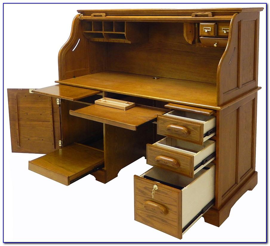 Roll Top Computer Desk Australia