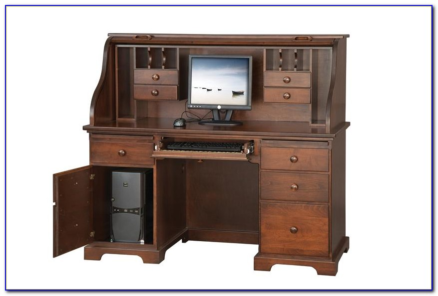 Roll Top Computer Desks