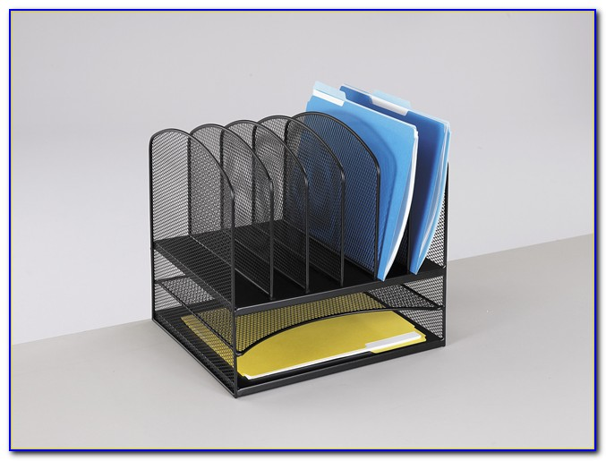 Safco Products Onyx Mesh Desk Organizer