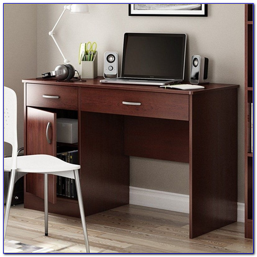 Sauder Computer Desk Cherry Finish